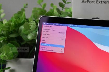 Tại sao không nên Shutdown máy Mac thường xuyên
