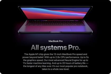 MacBook Pro 13 inch được trang bị chip M1 mới của Apple có gì hot??