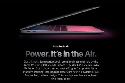 Apple trình làng MacBook Air mới sử dụng Chip M1, nội thất của nó liệu có đáng giá 899 USD??