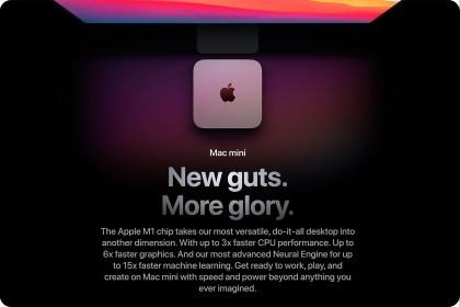 Mac Mini mới có sự ra mắt hoành tráng với chip M1 do chính Apple thiết kế