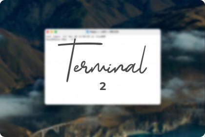 Các lệnh Terminal có thể bạn chưa biết (Phần 2)