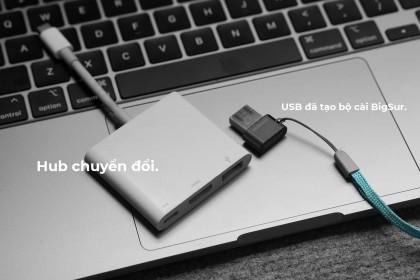 Hướng dẫn cài đặt lại Macbook M1 bằng USB, Ổ cứng di động...