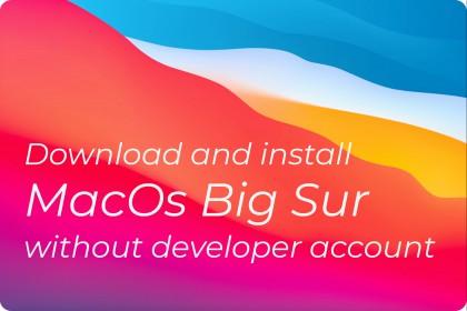 Hướng Dẫn Cài Đặt macOS Big Sur