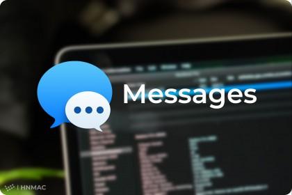 Hướng dẫn nhắn tin MMS/SMS trên Macbook