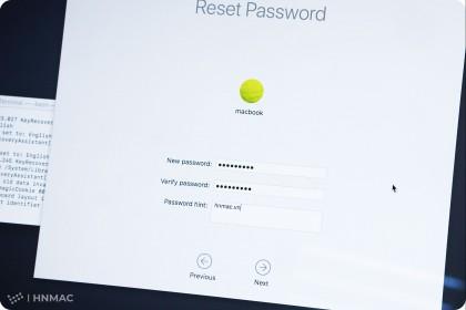 Giải pháp khi quên Password Macbook