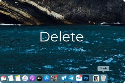 Tất tần tật về tính năng Delete trong MacOS