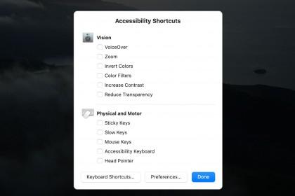Hướng dẫn sử dụng Head Pointer MacOS