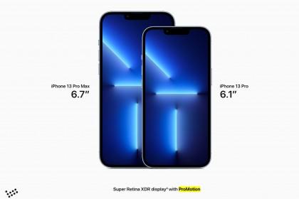 Apple ra mắt iPhone 13 Pro và iPhone 13 Pro Max với màn hình ProMotion và bộ nhớ lên đến 1TB
