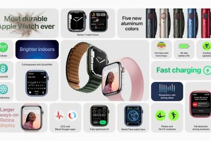 Apple Watch Series 7 ra mắt với thiết kế mới gần như không thay đổi nhưng...
