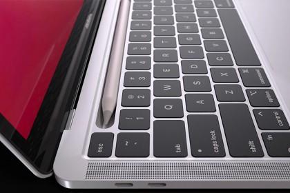 Đánh giá của bạn sao nếu MacBook Pro hỗ trợ bút Pencil với thiết kế như này?