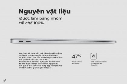 Macbook Air 2020 - Macbook Xanh nhất với món hời từ Apple