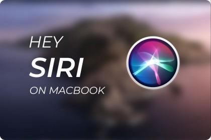 Hướng Dẫn Cách Sử Dụng Siri trên Macbook.
