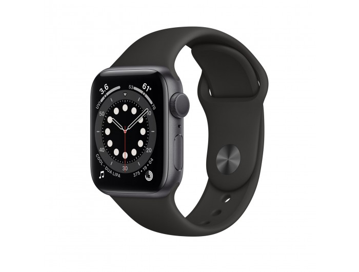 Đồng hồ Apple Watch Series 7 GPS 44mm - Nhôm, dây Cao su - Chính hãng (VN/A)