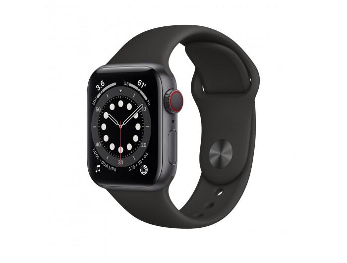 Đồng hồ Apple Watch Series 7 GPS + Cellular 44mm - Nhôm, dây Cao su - Chính hãng (VN/A)