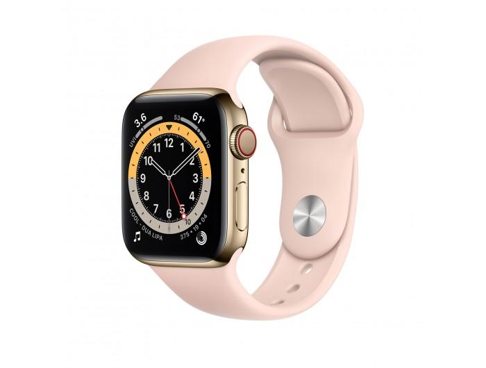 Đồng hồ Apple Watch Series 7 GPS + Cellular 40mm - Thép, dây Cao su - Chính hãng (VN/A)