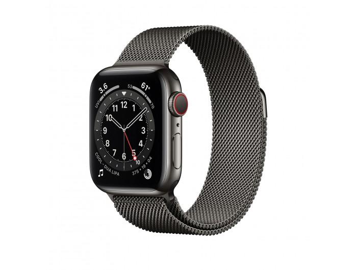 Đồng hồ Apple Watch Series 7 GPS + Cellular 40mm - Thép, dây Thép - Chính hãng (VN/A)