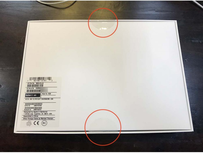 Macbook Retina 12 inch 2016 - 256 GB - Newseal 100% CPO