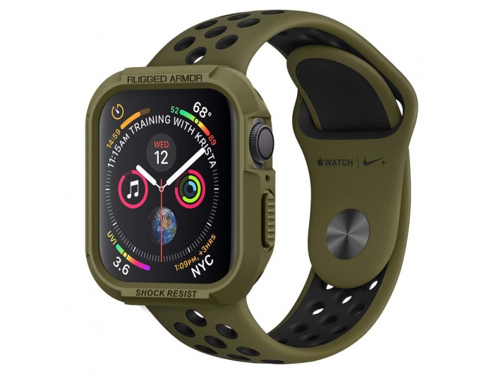 Spigen Rugged Armor Case Apple Watch Series 5 44mm