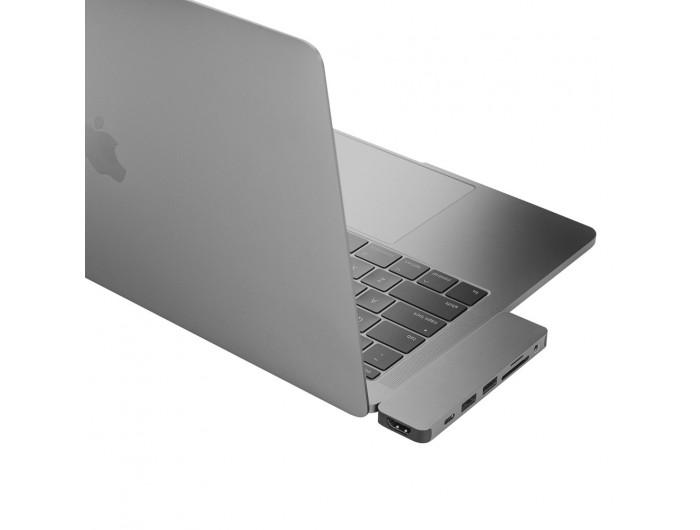 Bộ chia USB-C HyperDrive SOLO 7-in-1 (có HDMI, thẻ nhớ)