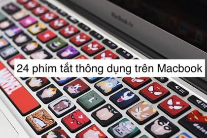 24 phím tắt trên Macbook người dùng nên biết