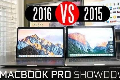 20 tiêu chí so găng giữa Macbook Pro 2015 và 2016