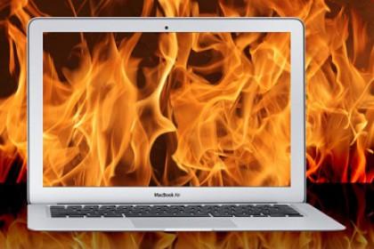 Kiểm tra lỗi quá nhiệt trên Macbook đơn giản nhất