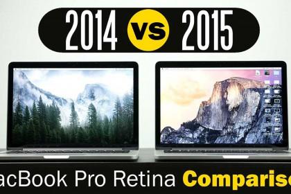 MacBook Pro 2015 có đáng để nâng cấp ? So sánh với 2014