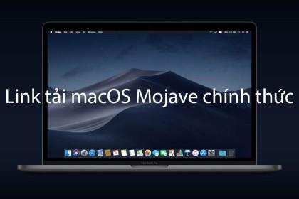 macOS Mojave: Link tải về - Đánh giá sơ bộ