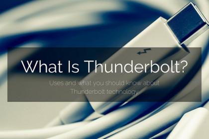 Tìm hiểu về cổng Thunderbolt (1, 2, 3) trên MacBook