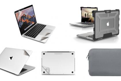 So sánh ưu nhược điểm giữa dán - túi chống sốc và case nhựa MacBook