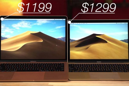 So sánh MacBook Air 2018 và MacBook 12 inch
