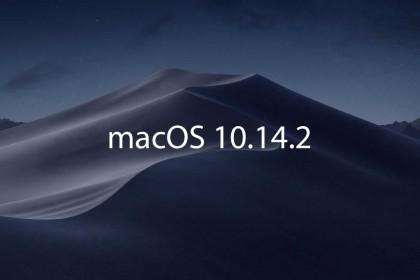 Apple ra mắt macOS 10.14.2, sửa lỗi xuất hình trên MacBook Pro 2018