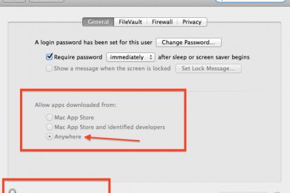 """[Hướng Dẫn] Kích Hoạt lại Button """" AnyWhere """" trong Security and Privacy trên mac 10.12 – hnmac.vn"""