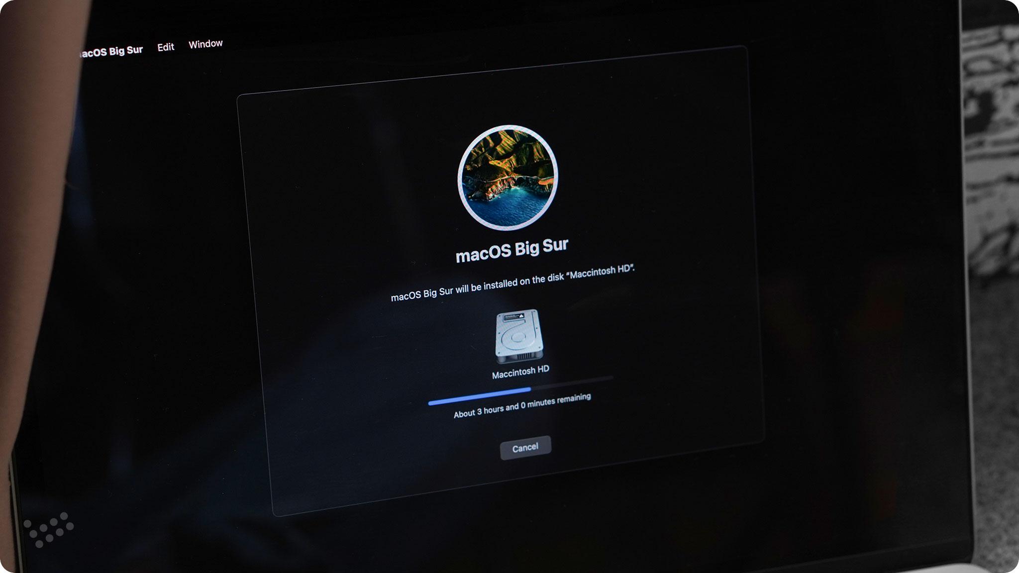 hướng dẫn cài macbook