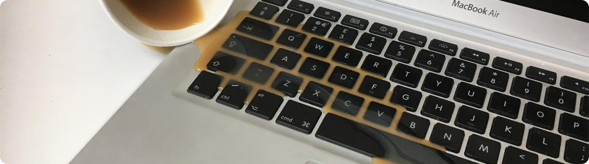 Cấp cứu khi MacBook bị vào nước | HNMAC
