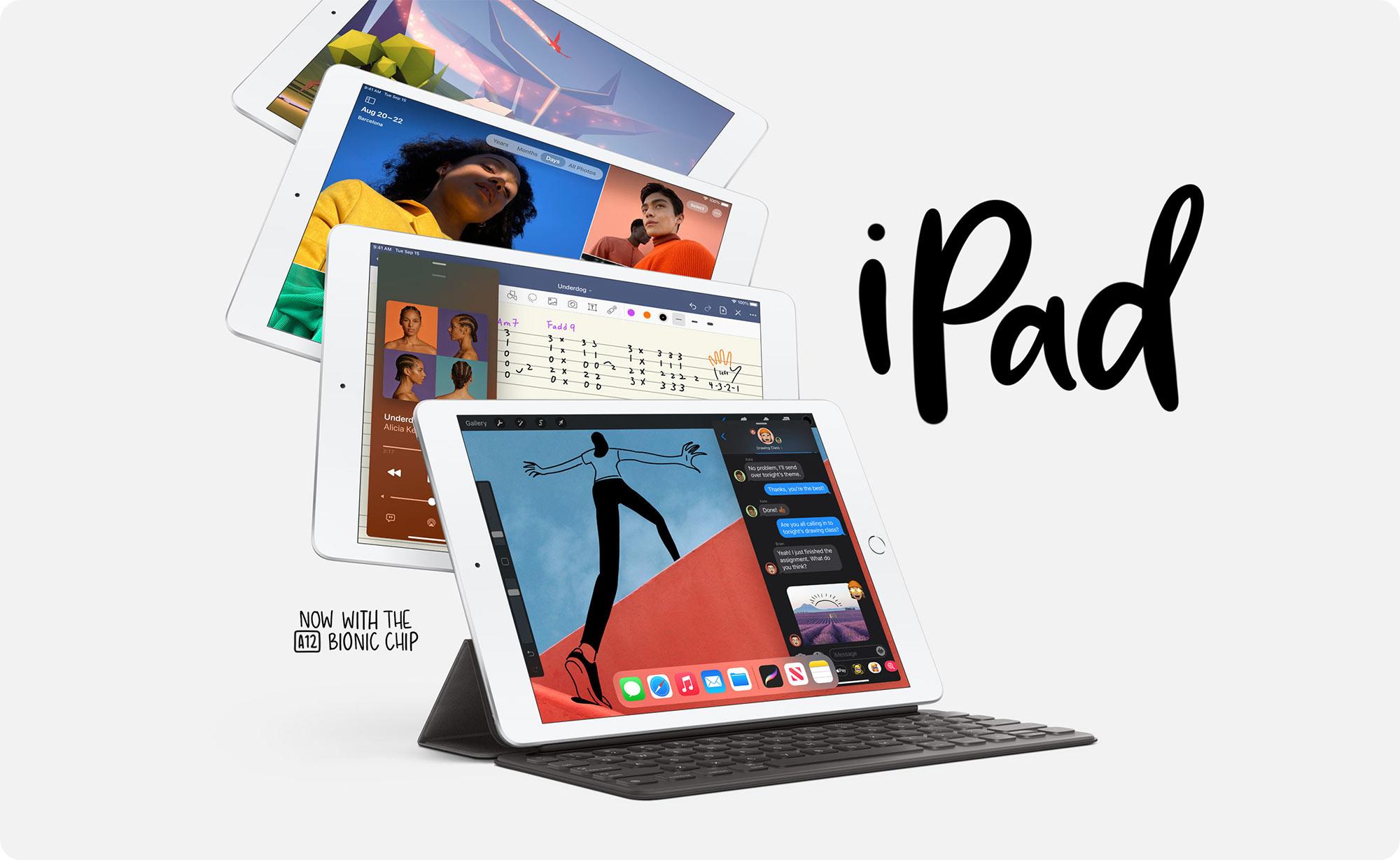 Apple trình làng iPad 8, hùng hồn tuyên bố nhanh hơn mọi đối thủ