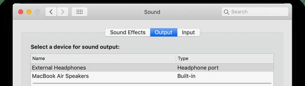 soundoutputs